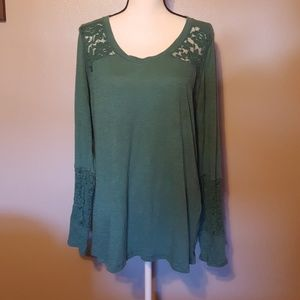 Maurices size 1 green top